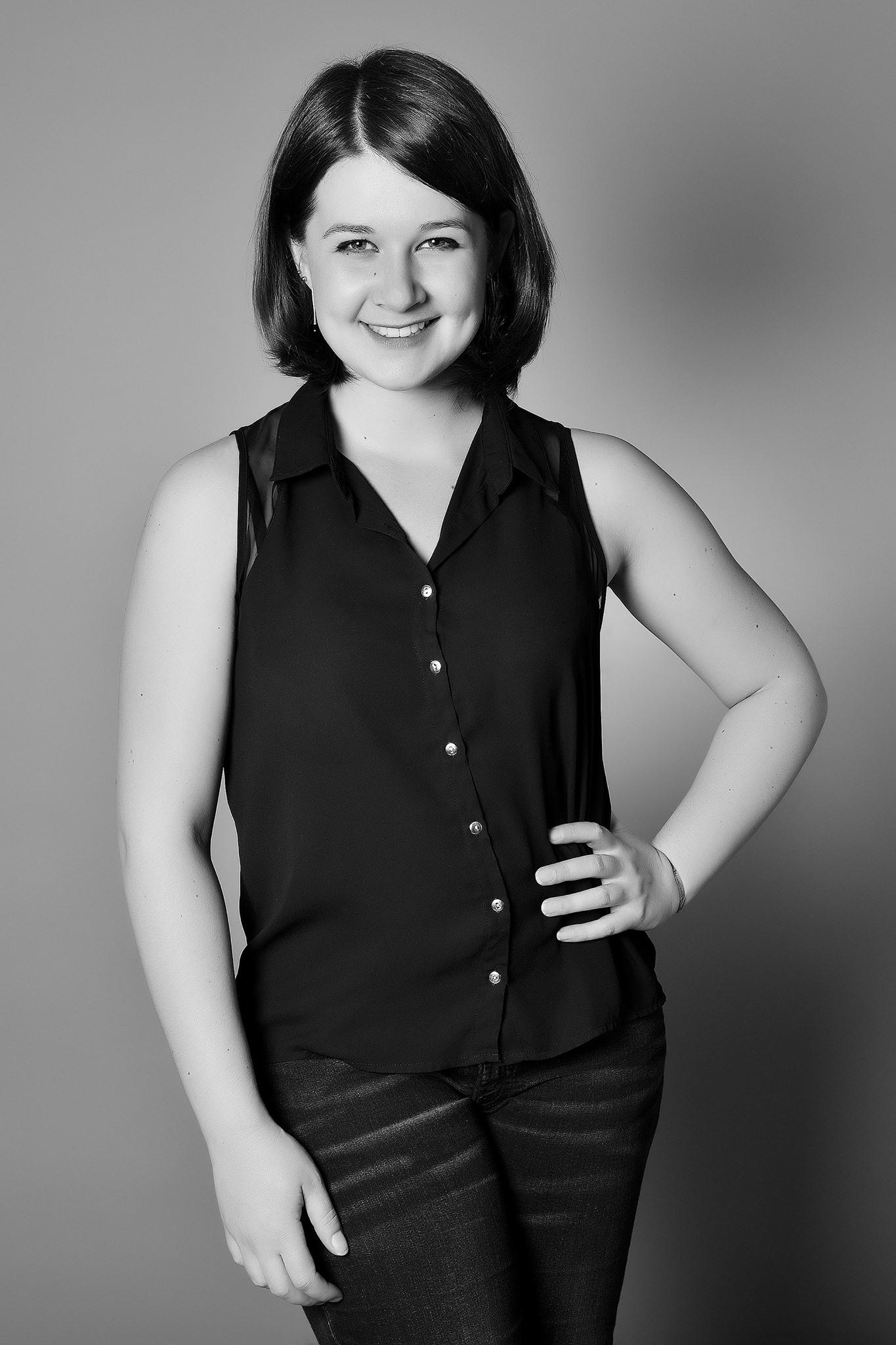 Portrait de la photographe Lucie Poirier